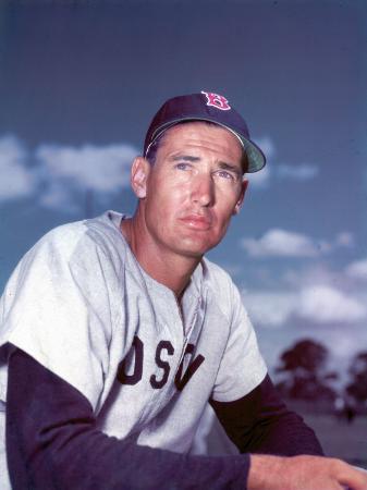 frank-scherschel-red-sox-baseball-star-ted-williams
