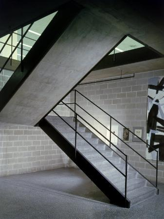 frank-scherschel-stairway-in-unidentified-building-designed-by-mies-van-der-rohe-chicago-illinois-1956