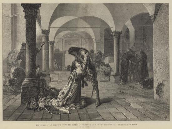 frank-w-w-topham-the-convent-of-san-francesco-during-the-sacking-of-the-city-of-assisi-by-the-perugians-1442