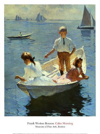 frank-weston-benson-calm-morning-1904