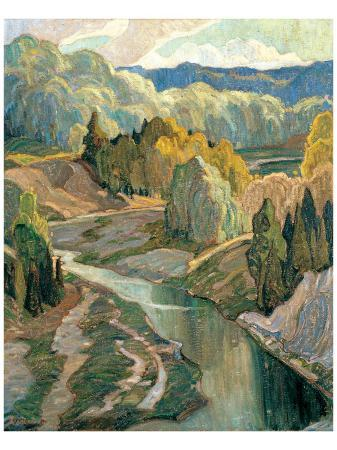 franklin-carmichael-the-valley-c-1921