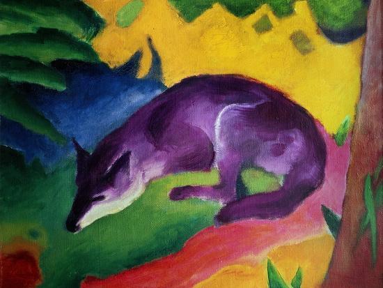 franz-marc-blue-fox-1911