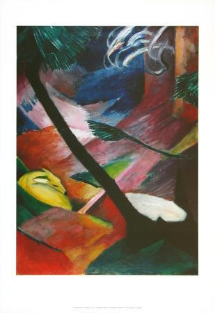 franz-marc-deer-in-the-forets-ii-c-1912