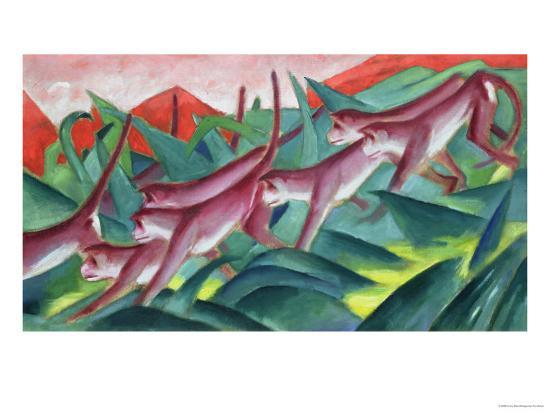 franz-marc-monkey-frieze-1911