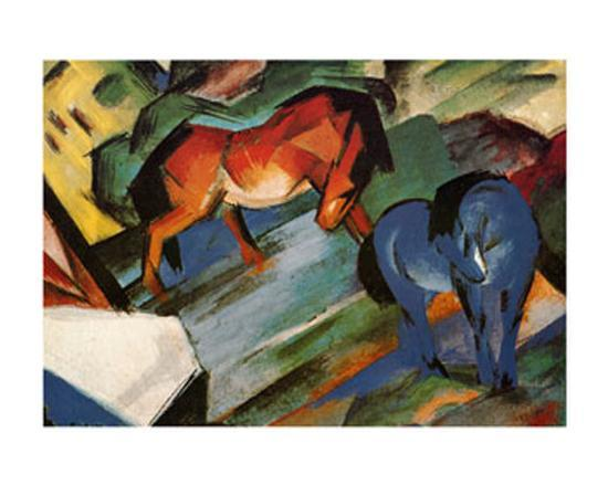 franz-marc-red-and-blue-horses