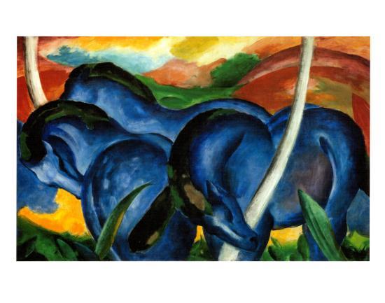 franz-marc-the-large-blue-horses-1911