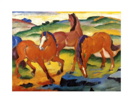 franz-marc-the-large-red-horses-1911