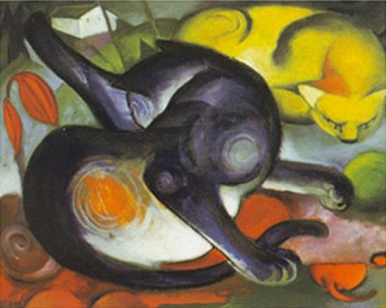 franz-marc-two-cats