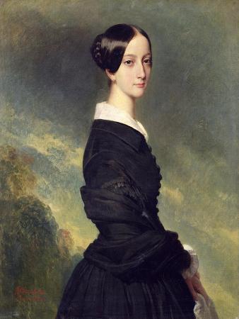 franz-xaver-winterhalter-portrait-of-francisca-caroline-de-braganca-1844