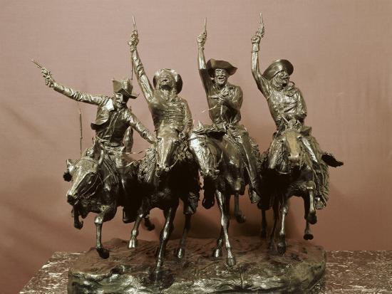 frederic-sackrider-remington-cowboy-sculpture
