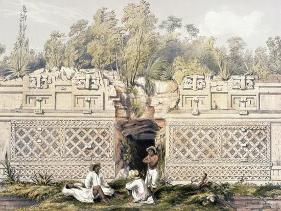 frederick-catherwood-ornament-over-the-gateway-of-the-great-teocallis-from-views-of-ancient-monuments-in-central
