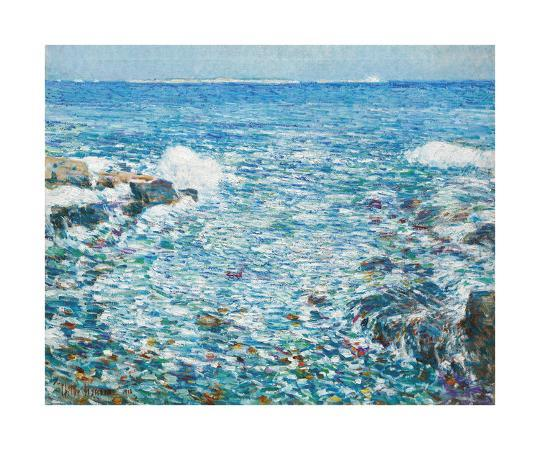 frederick-childe-hassam-surf-isles-of-shoals-1913