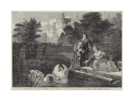 frederick-goodall-hever-castle-in-the-time-of-charles-i