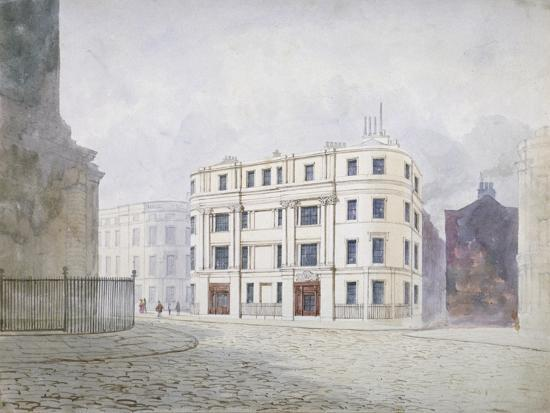 frederick-napoleon-shepherd-view-to-the-south-at-the-west-end-of-king-william-street-city-of-london-1850