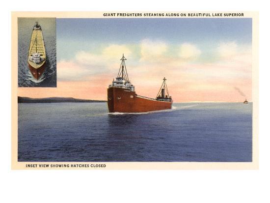 freighters-on-lake-superior-minnesota