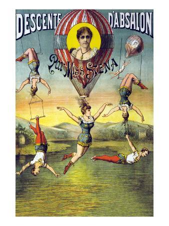 french-balloon-circus-poster