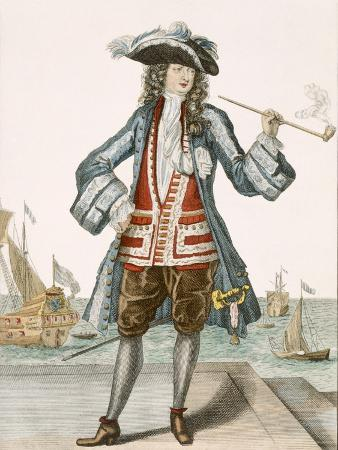 french-captain-jean-bart-of-dunkerque-coloured-engraving