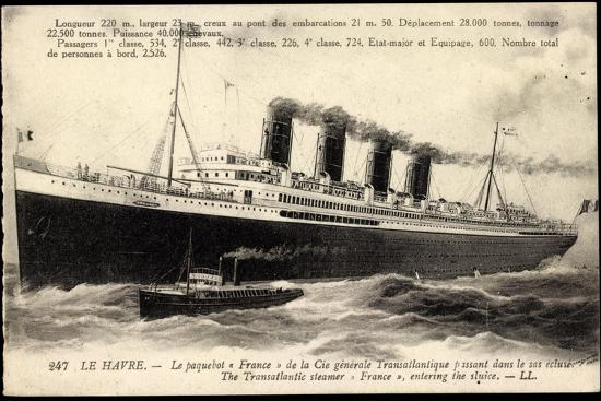 french-line-cgt-dampfschiff-france-paquebot