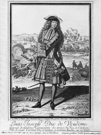 french-louis-joseph-de-bourbon-duke-of-vendome-known-as-the-great-vendome-engraving-b-w-photo