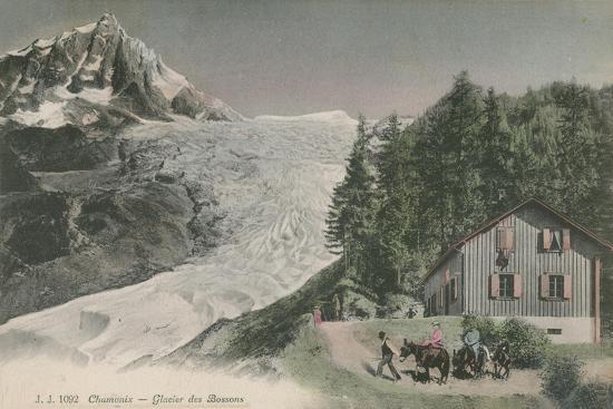 french-photographer-chamonix-bossons-glacier-postcard-sent-in-1913