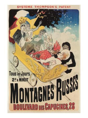 french-roller-coaster-poster