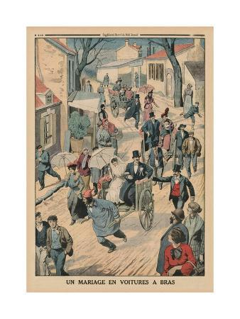 french-school-a-wedding-on-handcarts-back-cover-illustration-from-le-petit-journal-supplement-illustre-5th