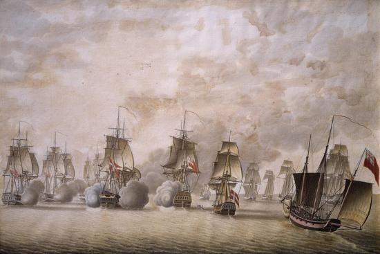 freya-frigate-under-command-of-captain-krabbe-attacking-british-ships