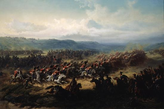 friedrich-kaiser-charge-of-the-english-light-brigade-at-the-battle-of-balaclava-on-25-october-1854-19th-century