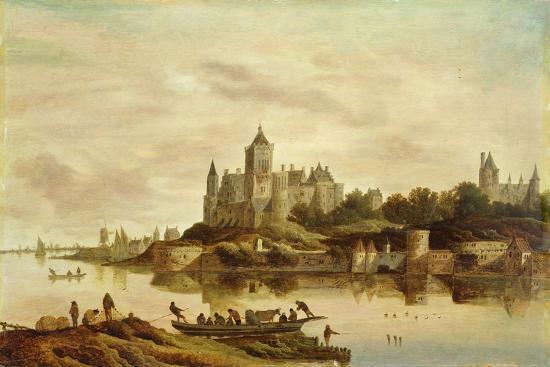 g-w-berckhout-view-of-het-valckhof-nijmegen-1650s