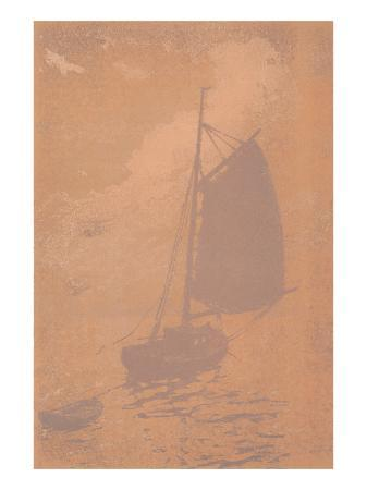 gaff-rigged-sailboat-in-mist
