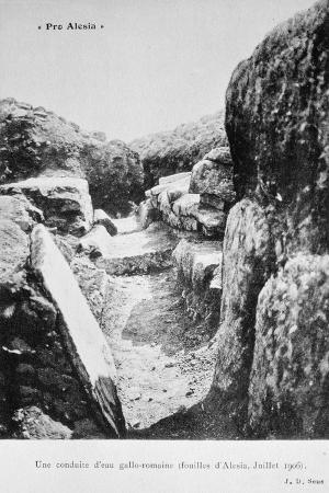 gallo-roman-water-pipeline-excavations-of-alesia-july-1906