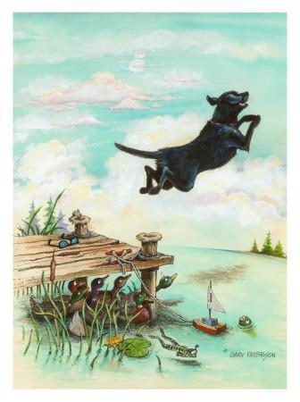 Day At The Lake Giclee Print By Gary Patterson At Art Com