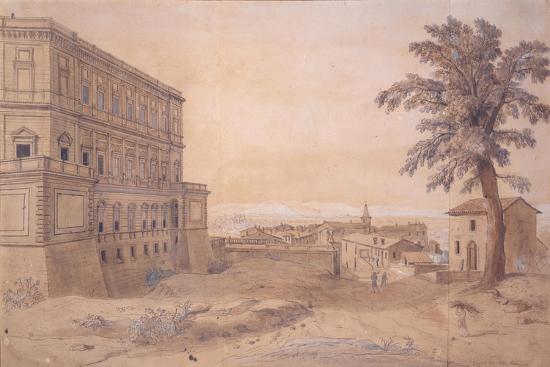 gaspar-van-wittel-the-palazzo-farnese-at-caprarola
