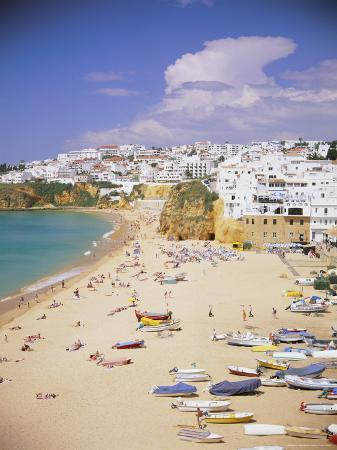 gavin-hellier-beach-and-town-albufeira-algarve-portugal-europe