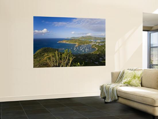 gavin-hellier-caribbean-antigua-english-harbour-from-shirley-heights-looking-towards-nelson-s-dockyard