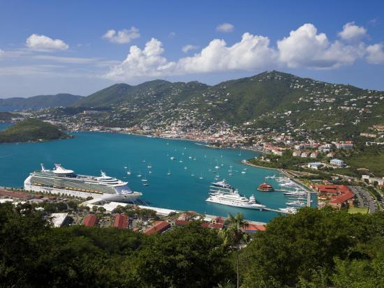 gavin-hellier-charlotte-amalie-and-cruise-ship-dock-of-havensight-st-thomas-u-s-virgin-islands-west-indies