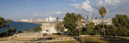gavin-hellier-downtown-buildings-viewed-from-hapisgah-gardens-park-jaffa-tel-aviv-israel-middle-east