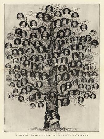 genealogical-tree-of-her-majesty-the-queen-and-her-descendants