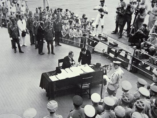 general-macarthur-reads-out-the-terms-of-surrender-to-japanese-officials-on-board-the-uss-missouri