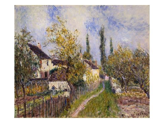 geoffrey-clements-painting-of-the-french-countryside-by-alfred-sisley