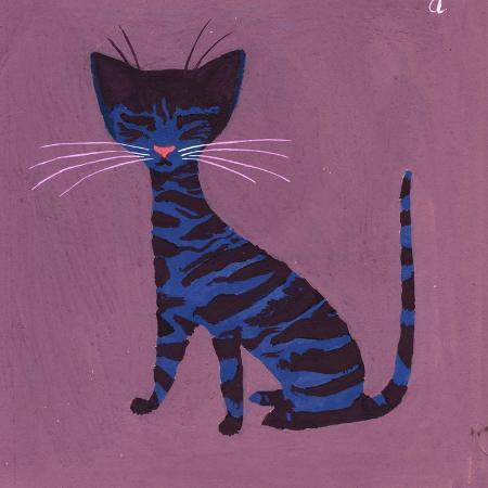 george-adamson-the-blue-cat-1970s