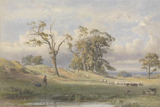 george-arthur-fripp-old-british-camp-in-bulstrode-park-1860