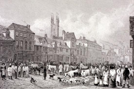 george-cooke-smithfield-market-london-c1830