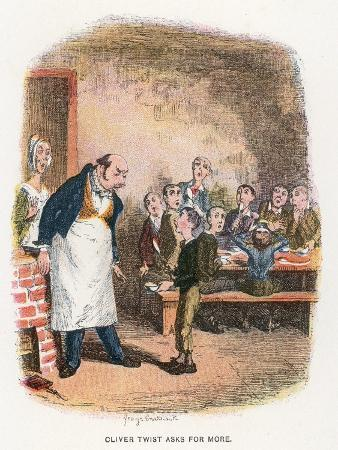 george-cruikshank-oliver-asking-for-more-illustration-for-oliver-twist-by-charles-dickens-colour-litho