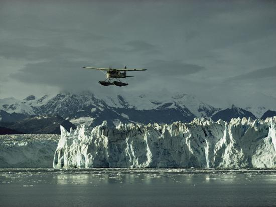 george-f-mobley-a-floatplane-traverses-columbia-glacier-and-prince-william-sound