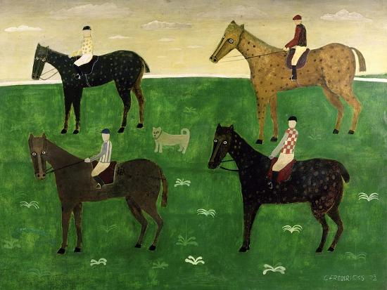 george-fredericks-horses-and-jockeys