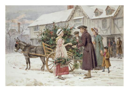george-goodwin-kilburne-the-holly-cart
