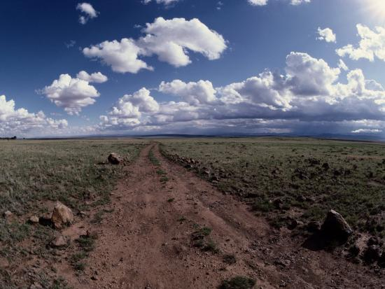 george-grall-a-dirt-road-leads-to-the-horizon