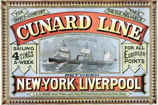 george-h-fergus-cunard-line-between-new-york-and-liverpool-poster
