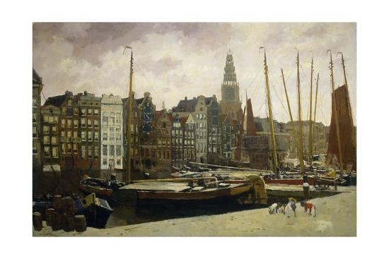 george-hendrik-breitner-the-damrak-amsterdam-1903